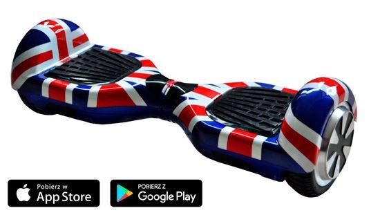 Deskorolka Elektryczna Hoverboard Classic Flaga