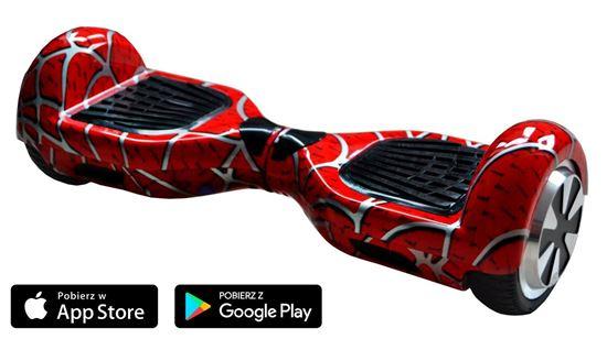 Deskorolka Elektryczna Hoverboard Classic Spider-Man