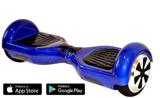 Deskorolka Elektryczna Hoverboard Classic niebieski