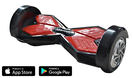Deskorolka Elektryczna Hoverboard Lambo Czarny
