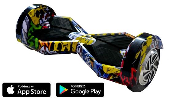 Deskorolka Elektryczna Hoverboard Lambo Hip-Hop