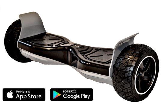 Deskorolka Elektryczna Kiwano Allroad 8,5 Future Digital