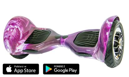 Deskorolka Elektryczna Hoverboard Violet Moon