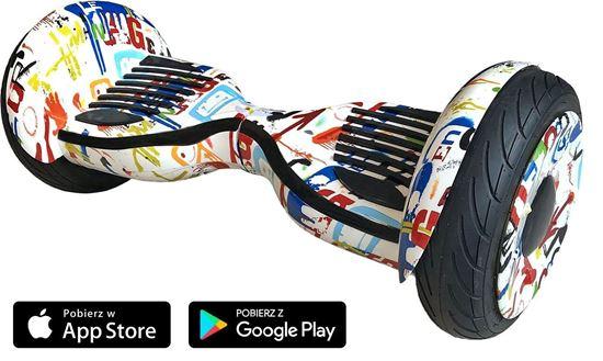 Deskorolka Elektryczna Hoverboard Allroad 10.5' Future Digital Grafity