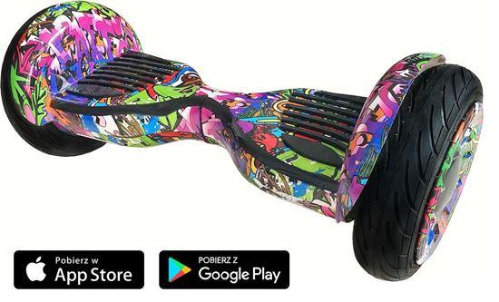 Deskorolka Elektryczna Hoverboard Allroad 10.5' Future Digital Hip-Hop Vio