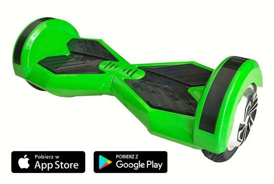 Deskorolka Elektryczna Hoverboard Lambo Zielony