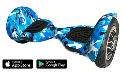 Deskorolka Elektryczna Hoverboard Allroad Kamuflaż