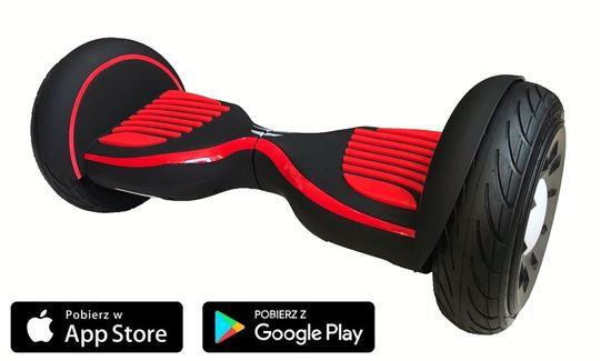 Deskorolka Elektryczna Hoverboard Allroad 10.5' Future Digital Czarny Mat