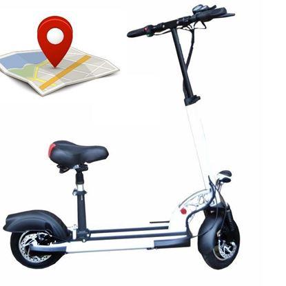 Elektryczna hulajnoga 10 cali GPS