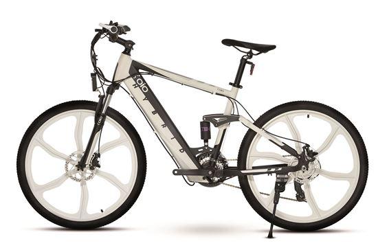 OIO City Bike Elite White