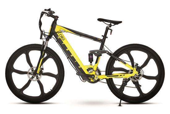 OIO City Bike Elite Yellow
