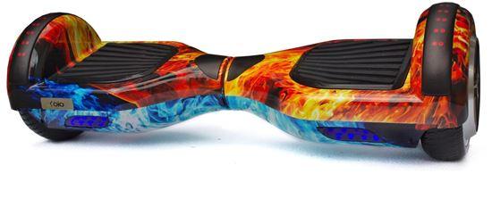 Deskorolka Elektryczna Hoverboard Red-Blue Fire